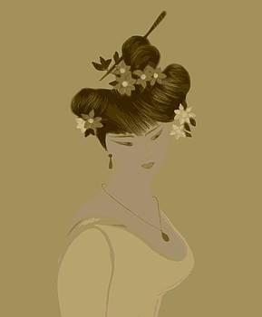 Japanise Girl by Emna Bonano