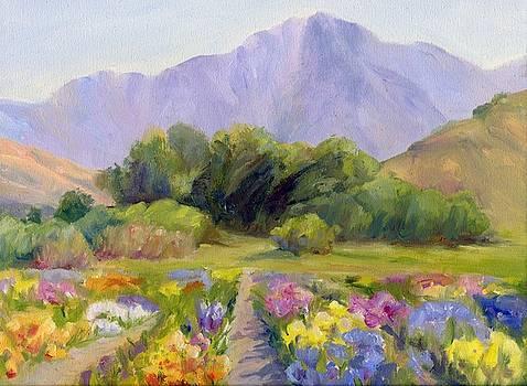 Jardin d'Iris by Muriel Dolemieux