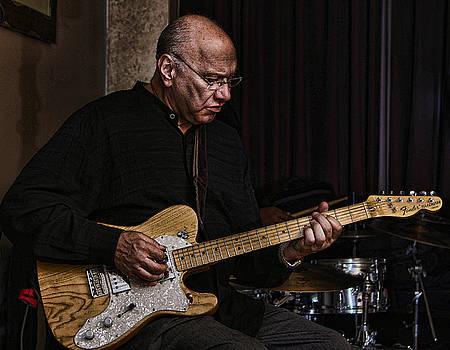 Jazz Guitarist by Jerome Lynch