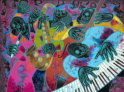 Jazz On Ogontz Ave. by Larry Poncho Brown