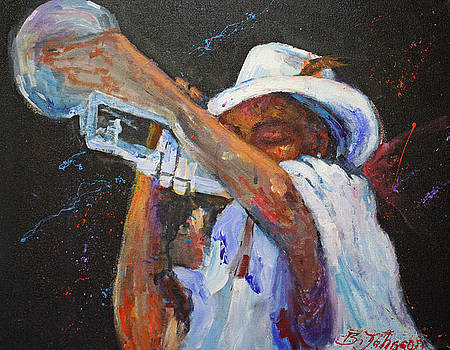 Jazz Player by Benjamin Johnson