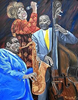Jazz Singers by Michael Lee