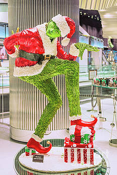 Jean Philippe's Chocolate Grinch in the Aria Casino by Aloha Art
