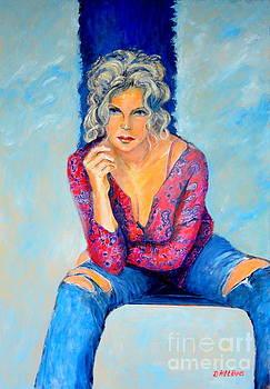 Jeans Ii by Dagmar Helbig
