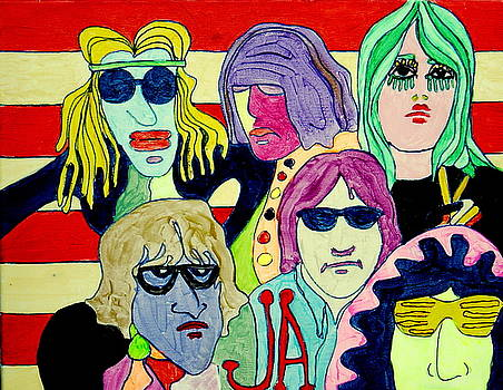 Jefferson Airplane on Scooby Doo by Gayland Morris