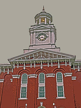 Jefferson County Courthouse by Jean Hall
