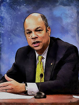 Jeh Johnson by Kai Saarto
