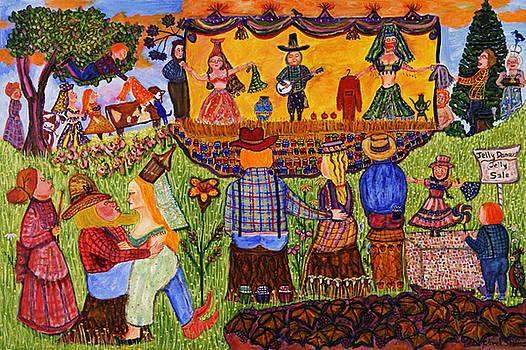 Jelly Dancers by Carol Shumas