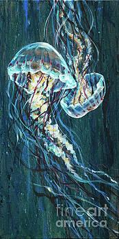 Jellyfish Duo by Linda Olsen