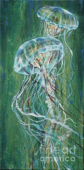 Jellyfish Greens by Linda Olsen