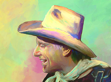 Jerry Jeff the Gypsy Songman by GCannon