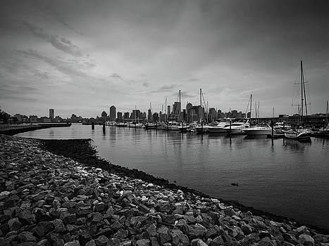 Jersey City Yacht Club by Valerie Morrison
