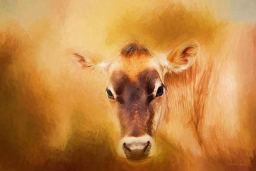 Michelle Wrighton - Jersey Cow Farm Art