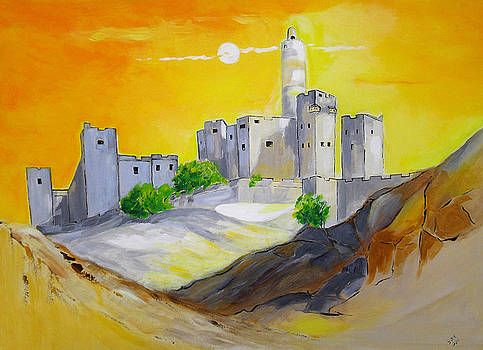 Jerusalem City of Gold by Gloria Dietz-Kiebron