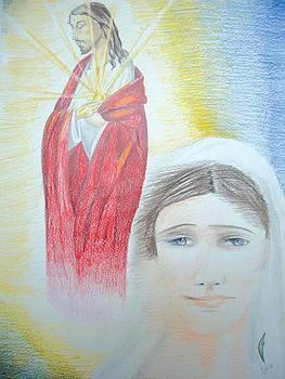 Jesus and Mary by Fabio Turini