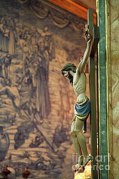Gaspar Avila - Jesus Christ on the cross