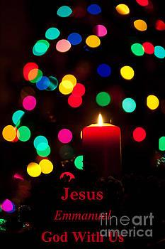 Jesus Emmanuel God With Us by Wayne Moran