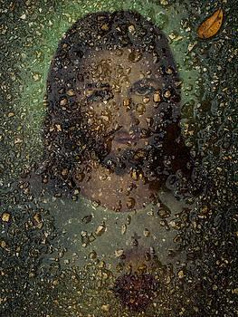 Jesus In Stone by Randy Sylvia