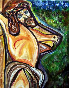 Jesus on Cross by Azalea Millet