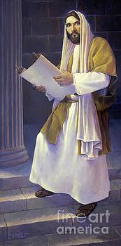 Jesus Reads by Rob Corsetti