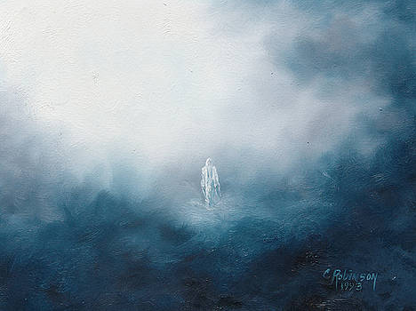 Jesus Walking on Water by Celeste Nagy