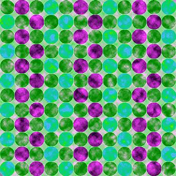 Jewel Dots Amethyst by Joy McKenzie