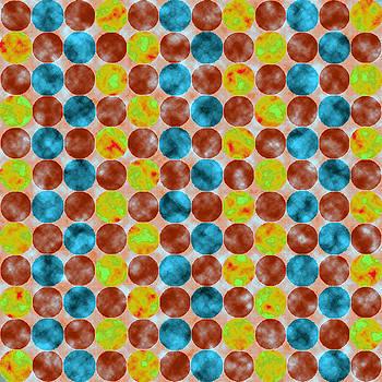 Jewel Dots Aquamarine by Joy McKenzie
