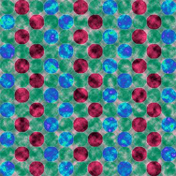 Jewel Dots Rubies by Joy McKenzie