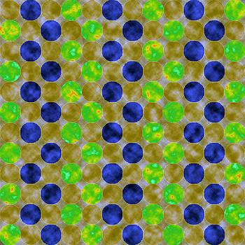 Jewel Dots Sapphire by Joy McKenzie