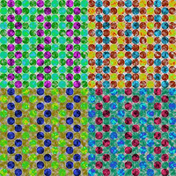 Jewel Dots Times Four by Joy McKenzie