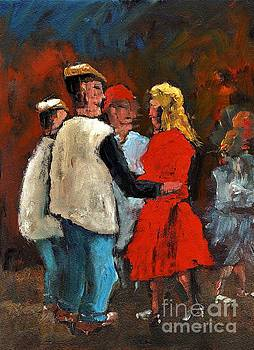 Round de floor with yer Trotters Shake by Val Byrne