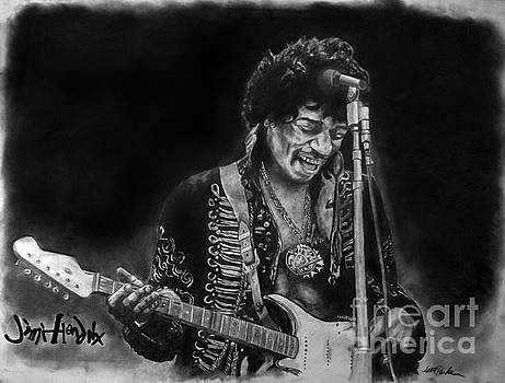Jimi Hendrix 2 by Scott Parker