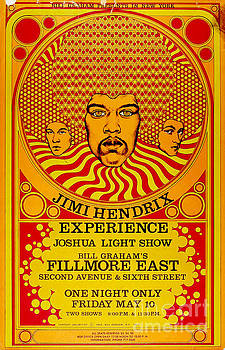 Jimi Hendrix Experience Poster by Pd
