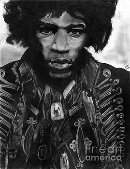 Jimi Hendrix by Scott Parker
