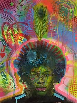 Jimi V.3 by Dean Russo