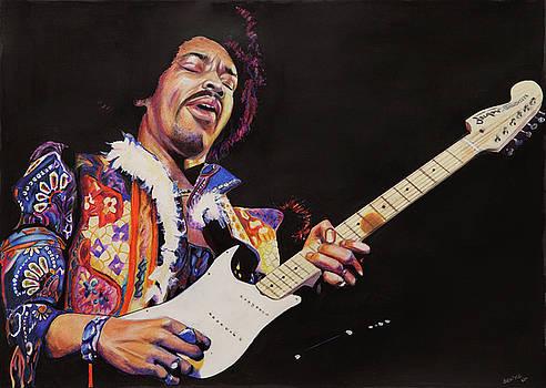 Jimmy Hendrix by Chris Benice