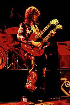 Jimmy Page by Michael Payne