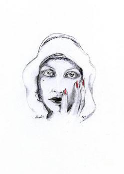 Joan Crawford by Maria Hakobyan