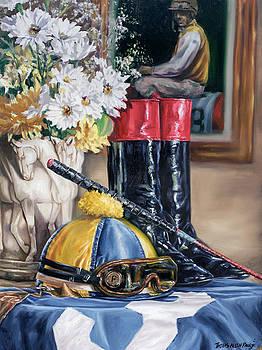 Jockey Still Life by Thomas Allen Pauly