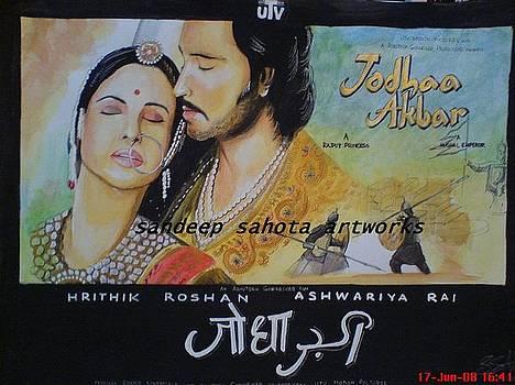 Jodha Akbar by Sandeep Kumar Sahota