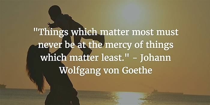 Johann Wolfgang von Goethe Quote by Matt Create