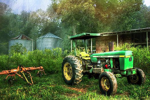 Debra and Dave Vanderlaan - John Deere Tractor Painting