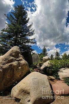 John Denver Sanctuary Aspen by Veronica Batterson