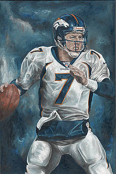 John Elway by David Courson