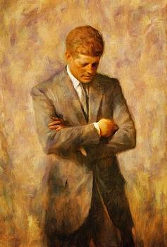 John Fitzgerald Kennedy by Vincent Monozlay