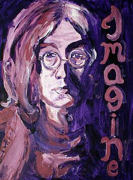 John Lennon by Hannah Curran