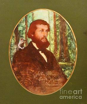 John Muir with Chip on his shoulder by Kean Butterfield