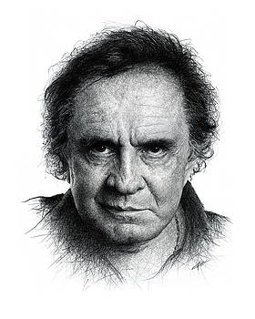 Johnny Cash by Christian Klute