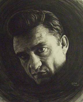 Johnny Cash by Cynthia Campbell