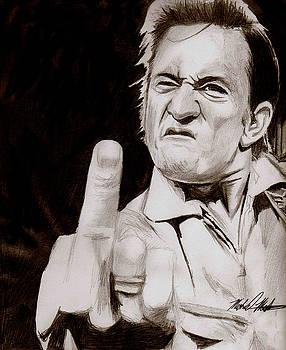 Johnny Cash by Michael Mestas